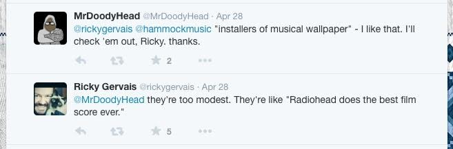 Hammock like radiohead