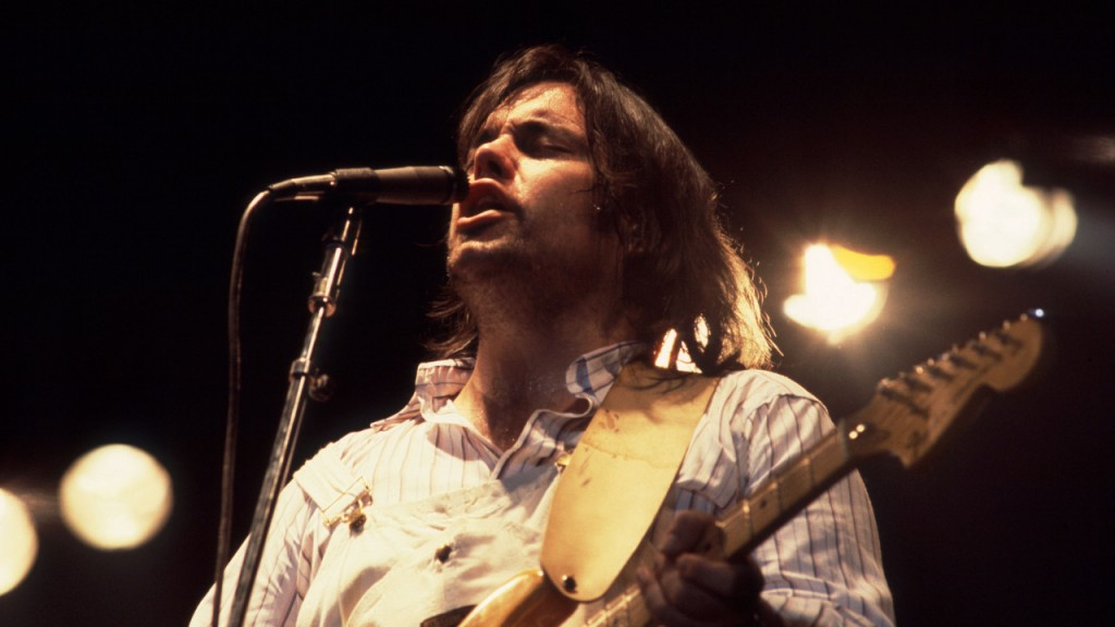 Lowell George of Little Feat on 3/31/78 in Chicago, IL. (Photo by Paul Natkin/WireImage)